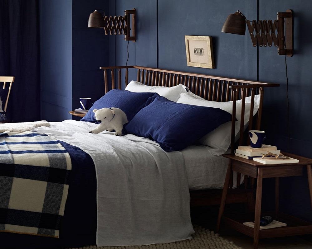 رنگ های مناسب برای اتاق خواب شما آبی