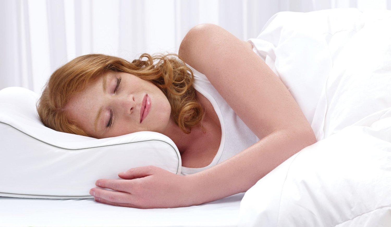 بالش مسافرتی خوابیدن به پهلو